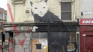 The World's Biggest Banksy Rat Mural to be Auctioned in the Netherlands