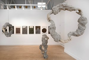 Concepts into Clay: William Cobbing, Haptic Loop, Cooke Latham Gallery