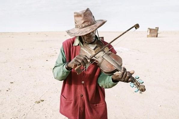 A Sad Melody By A Sad Violinist